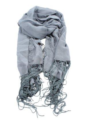 Natur Pur Silk Scarf light grey casual look