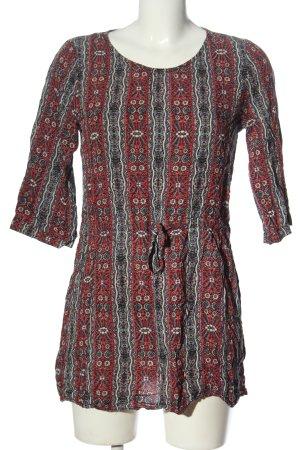 Natura Camicia blusa motivo astratto stile casual
