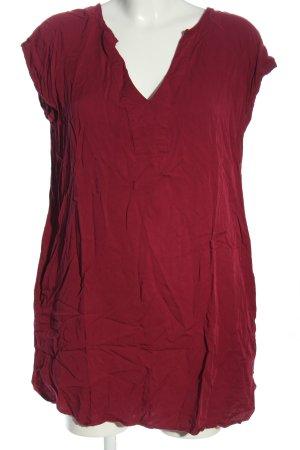 Natura Blusa a tunica rosso stile casual