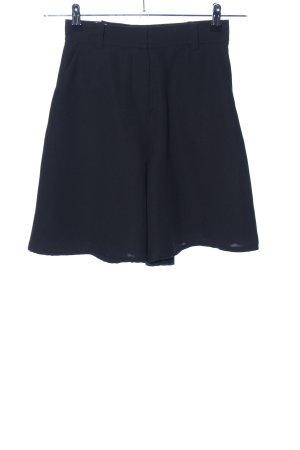High-Waist-Shorts schwarz Casual-Look