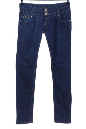 naturale Straight-Leg Jeans blau Casual-Look