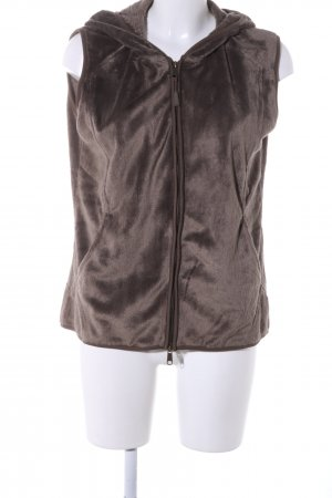 Tchibo / TCM Hooded Vest brown casual look