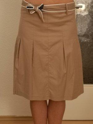 Jake*s Plisowana spódnica jasnobrązowy
