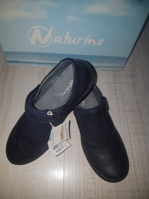 Naturino Zapatos Mary Jane azul oscuro