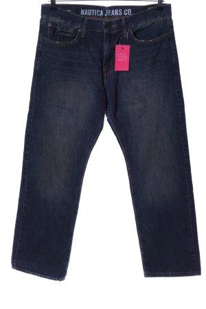 Nautica Straight-Leg Jeans blau Casual-Look
