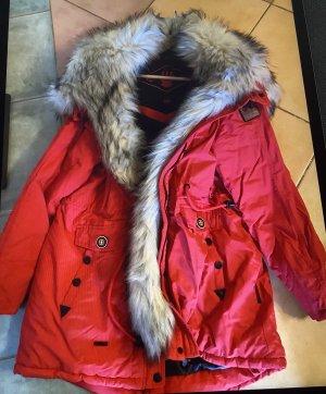Navahoo Kurtka zimowa czerwony
