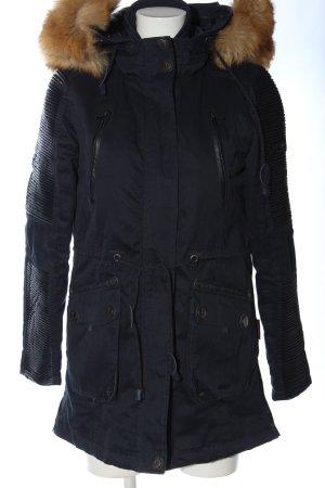 Navahoo Winterjacke schwarz Casual-Look
