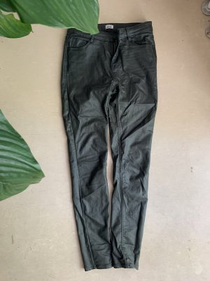 Pimkie Pantalon kaki vert foncé-kaki métal