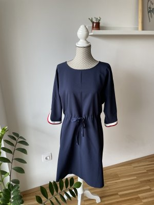 Navy Kleid.  Made in Italy