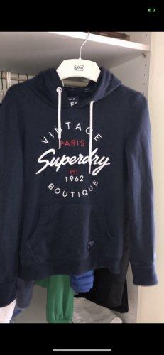 """navyblauer """"Vintage Boutique"""" Hoodie von Superdry in 36/S"""