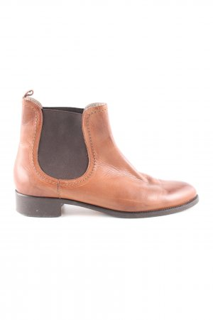 Navyboot Ankle Boots hellorange Business-Look