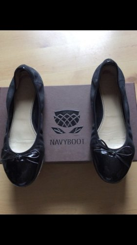 Navyboot Ballerinas