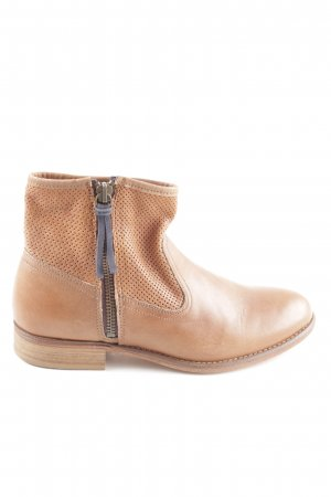 Navyboot Booties hellorange Casual-Look