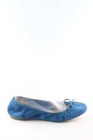 Navyboot faltbare Ballerinas blau Casual-Look