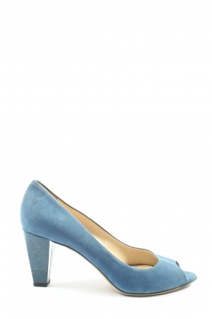 Navyboot High Heels blau Elegant