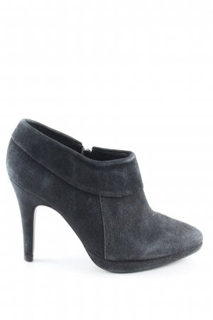 Navyboot Hochfront-Pumps blau Casual-Look