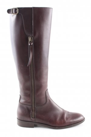 Navyboot Schaftstiefel braun Business-Look