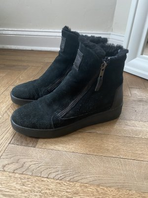 Navyboot Winter Boots black leather