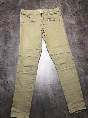 Navygrüne Jeans