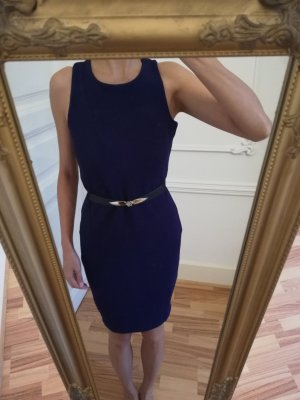 NavyPurple Body Shape Dress