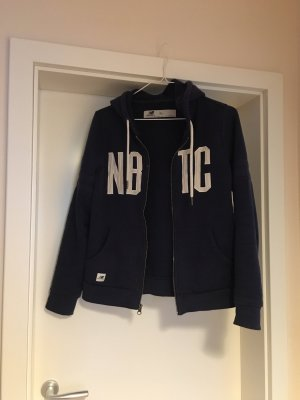 New Balance Sweat Jacket dark blue-white