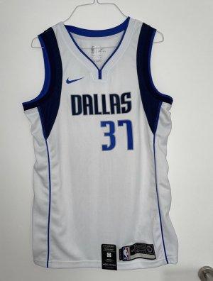 Nike Dri-FIT Sporttop donkerblauw-wit