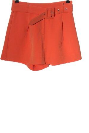 NBD Short taille haute orange clair style décontracté