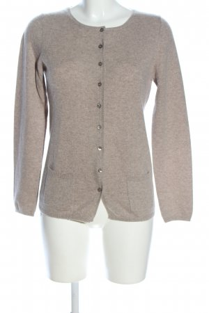 NC nice connections Cardigan wollweiß-braun meliert Casual-Look