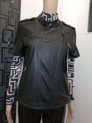 Ne. RA Collezioni Damen Echt Leder Designer Leder  Jacke Gr. 38/40