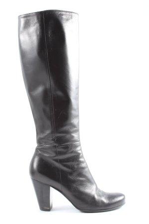 Nebuloni Wide Calf Boots black casual look