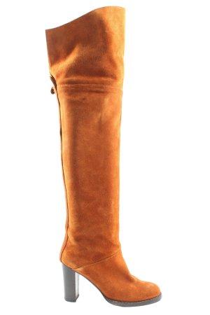 Nebuloni Wide Calf Boots light orange casual look