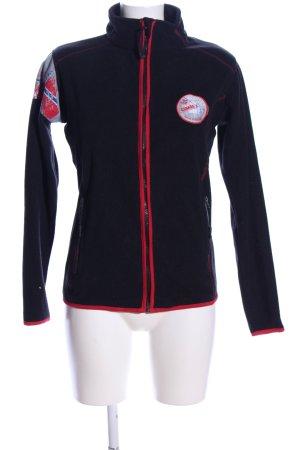 nebulus Fleece Jackets black-red casual look