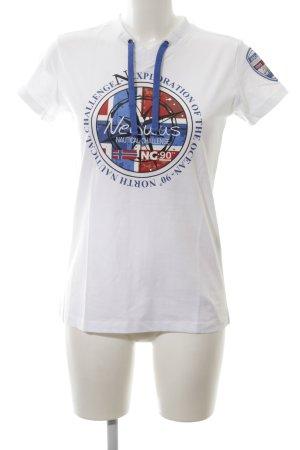 nebulus T-Shirt Motivdruck Casual-Look