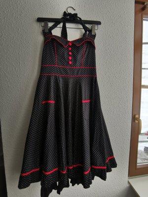 Necholder Kleid 50er Jahre