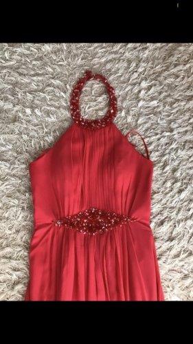 Peek & Cloppenburg Vestido de cuello Halter rojo-rojo claro