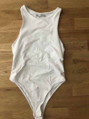 Zara Halter Top white