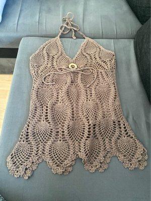 Morgan Crochet Top multicolored
