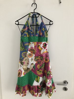 Desigual Halter Dress multicolored