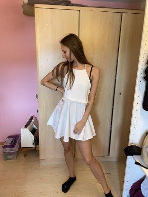 Asos Robe dos-nu blanc