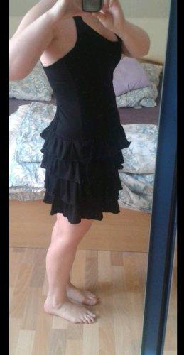 Neckholder Kleid mit Faltenrock