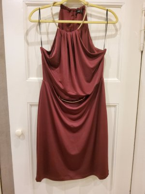 Bodyflirt Halter Dress carmine-bordeaux