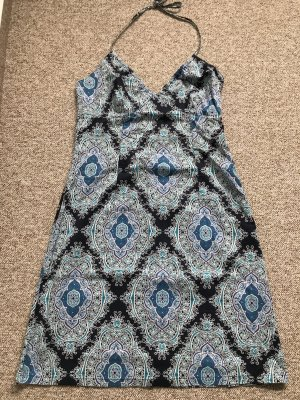 H&M Halter Dress multicolored cotton