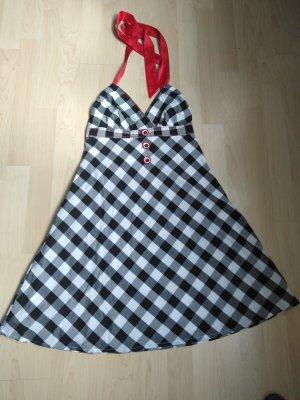 Koton Sukienka z dekoltem typu halter Wielokolorowy Bawełna