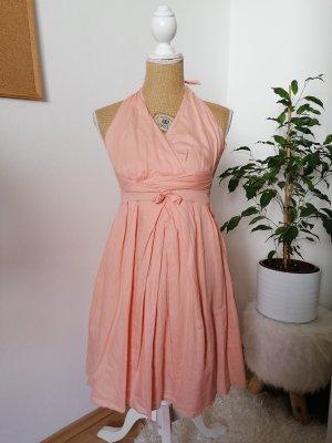 Orsay Halter Dress apricot-salmon