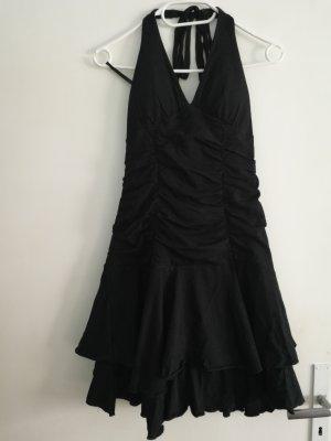 Takko Fashion Robe dos-nu noir coton