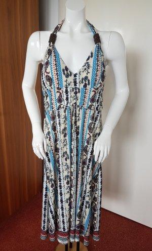 Malvin Vestido de cuello Halter multicolor