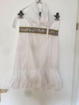 / Robe dos-nu blanc