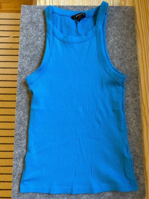 Monki Top senza maniche blu
