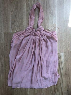 Zara Off-The-Shoulder Top rose-gold-coloured-pink