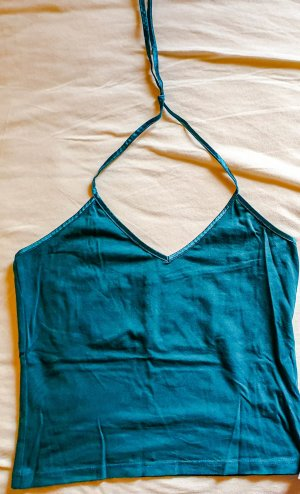 Neckholder Top in petrol